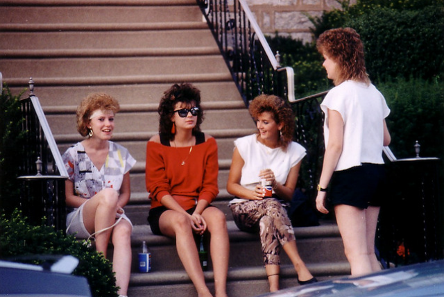 Teens in the eighties